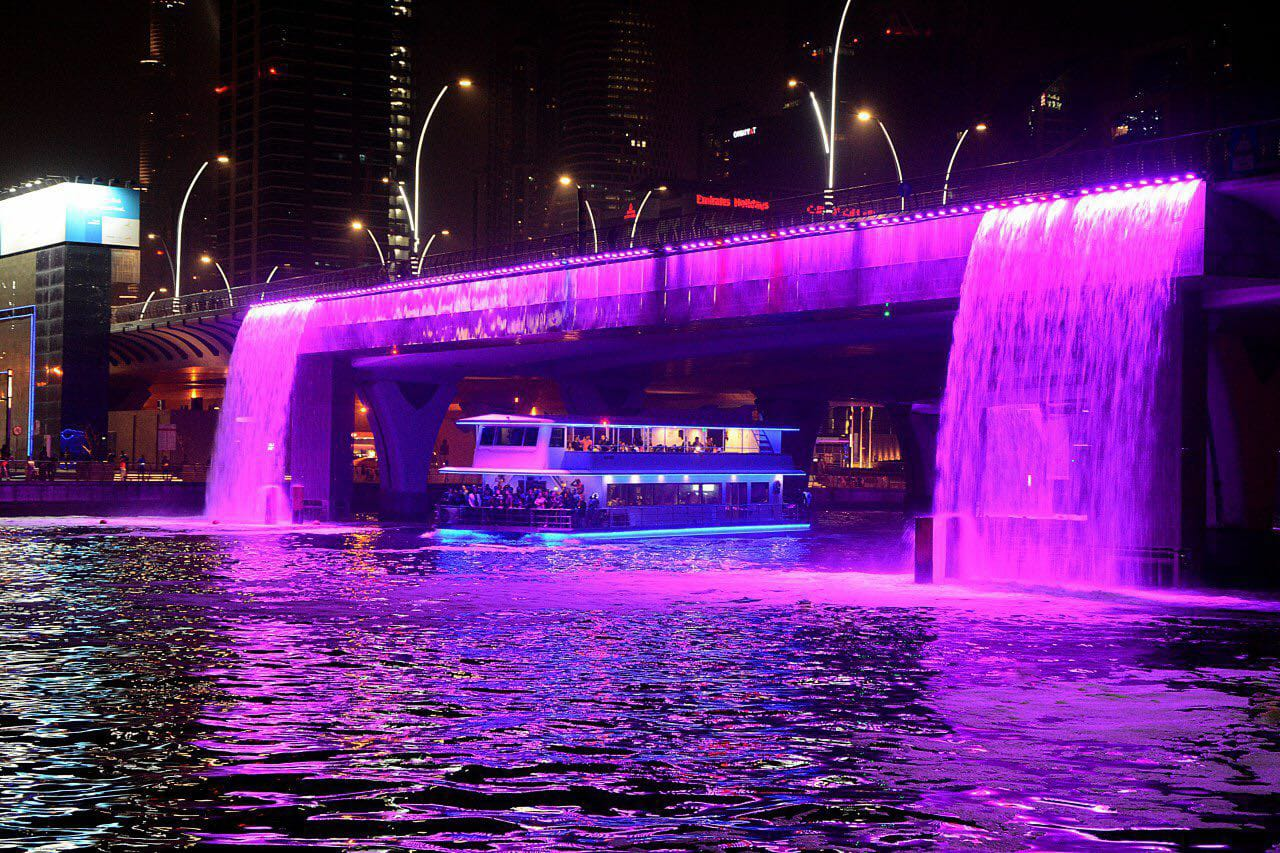 Explore Dubai Catamaran Water Canal Cruise With Live Entertainment And BBQ Dinner - NAHT