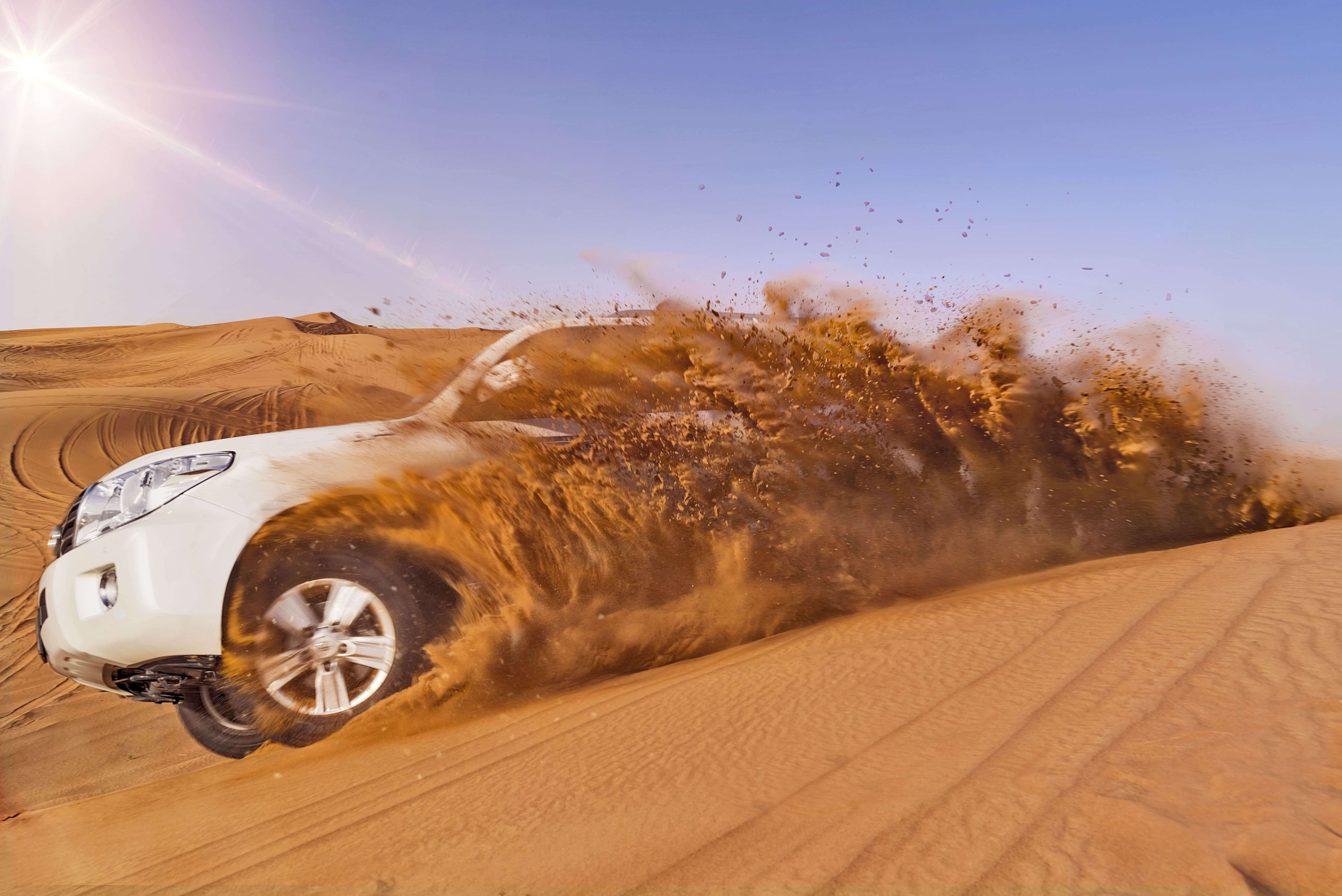 Morning Desert Safari With Refreshment At Dubai - NAHT