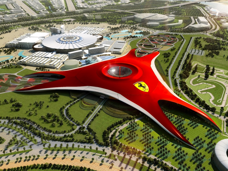 Visit Abu Dhabi City Tour With Ferrari World Ticket From Dubai - NAHT